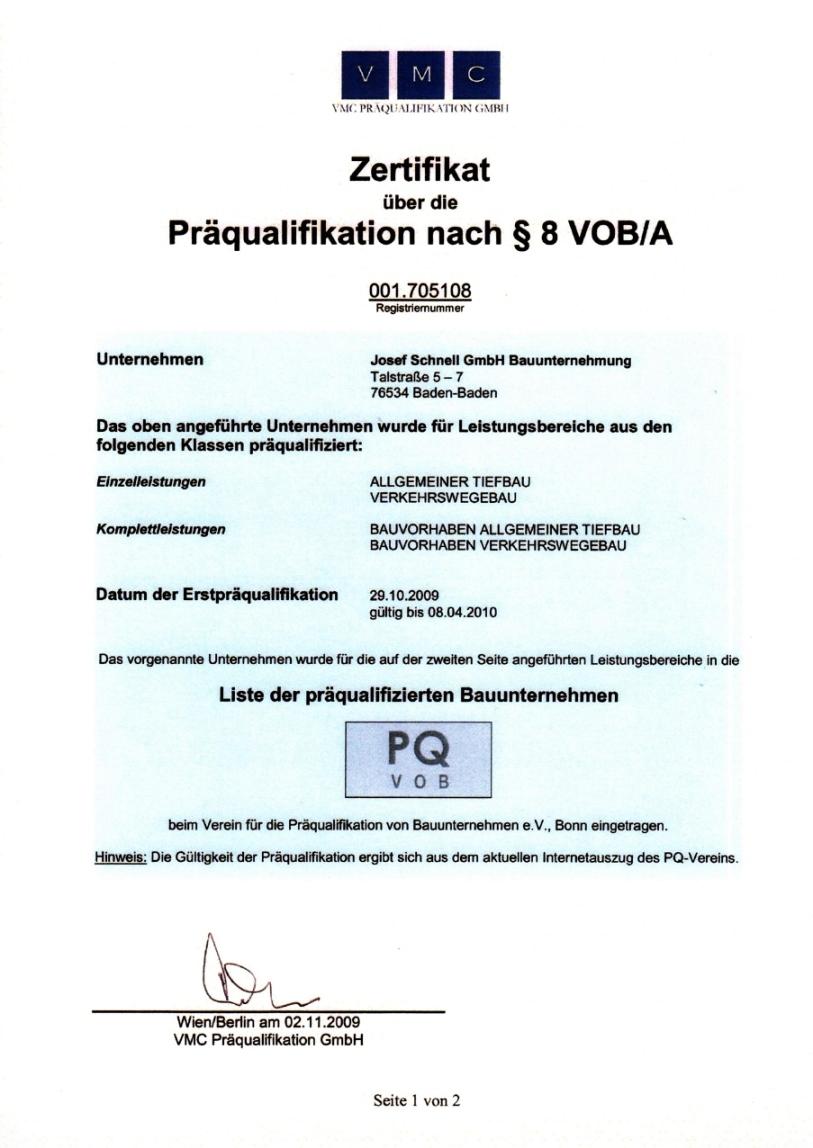 Bauunternehmen Offenburg josef schnell kompetenz am bau